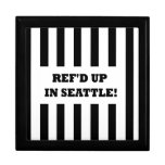 Ref'd Up In Seattle with Replacement Referees Jewelry Box