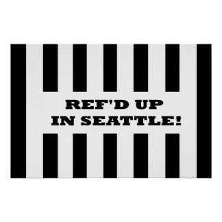 Ref'd Up In Seattle with Replacement Referees Poster