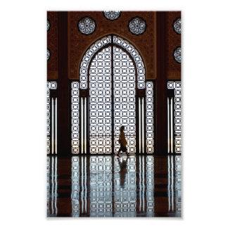 refection de la mezquita fotografias