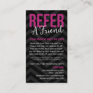 Jamberry business cards templates zazzle refer a friend referral card business cards reheart Choice Image