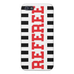 Referee black and red design covers for iPhone 5