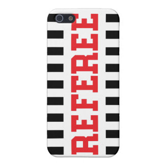 Referee black and red design iPhone SE/5/5s cover