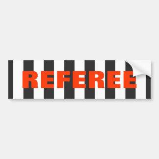 Referee Bumper Sticker