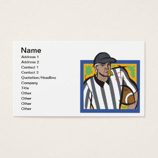 Referee Business Card
