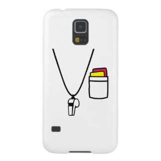 Referee cards whistle cases for galaxy s5