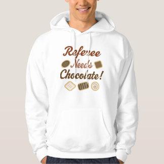Referee Chocolate Hoodie