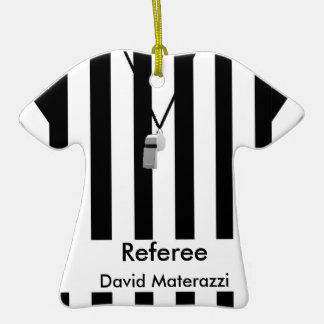 Referee Christmas Ornament