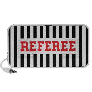 Referee portable iPhone, iPad, laptop speakers