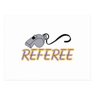 Referee Postcard