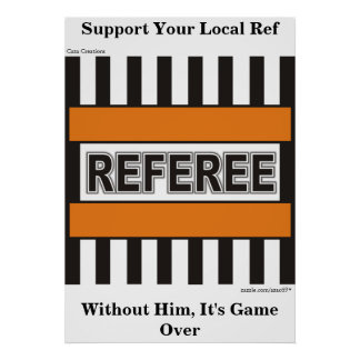 Referee Poster