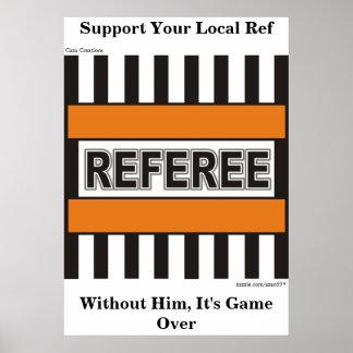 Referee Poster