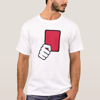 Referee red card T-Shirt