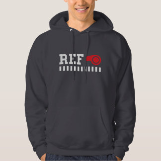 Referee - ref - design with red whistle hoodie