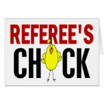 REFEREE'S CHICK CARD