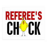 REFEREE'S CHICK POSTCARD