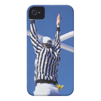 Referee signaling touchdown or successful field iPhone 4 case