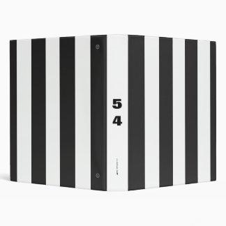 Referee Stripes 3 Ring Binder