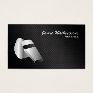 Referee Whistle Business Cards