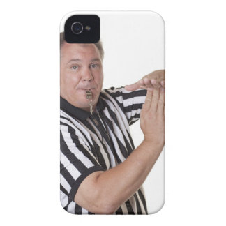 Referee with Time out signal and whistle Case-Mate iPhone 4 Case