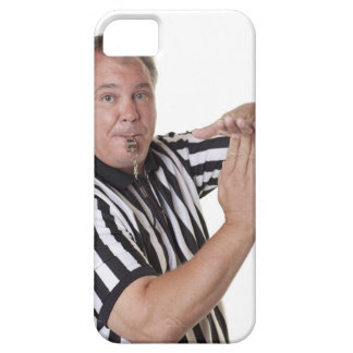 Referee with Time out signal and whistle iPhone SE/5/5s Case