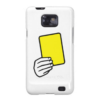 Referee yellow card galaxy s2 cover