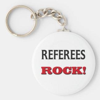Referees Rock Key Chains