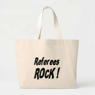 Referees Rock! Tote Bag