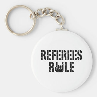 Referees Rule Key Chain