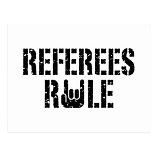 Referees Rule Postcard