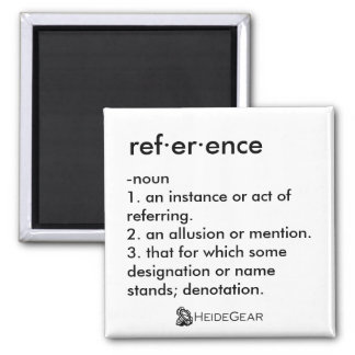 Reference Magnet