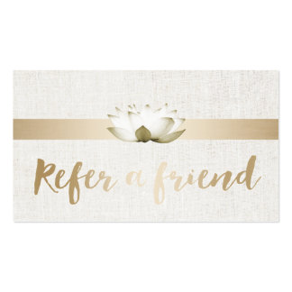 Referral Card   Elegant Lotus Therapy Salon SPA