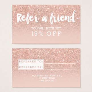 Referral Business Cards & Templates | Zazzle