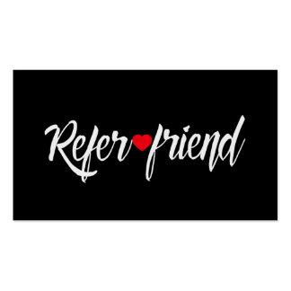 Referral Card   Red Heart Beauty Salon