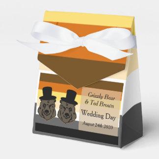 Refiere la caja gay del favor del boda de la paquetes de regalo para bodas