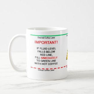 Refill Immediately Coffee Mug