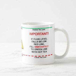 Refill Tea Coffee Mug