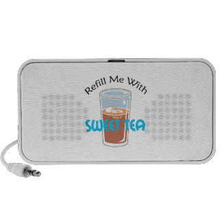 REFILL WITH SWEET TEA iPhone SPEAKER