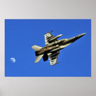 Refinanciación del portador F-18 Póster