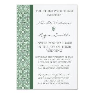 Refined Chic Wedding Invitation