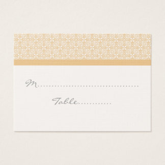 Refined Chic Wedding Placecard Business Card