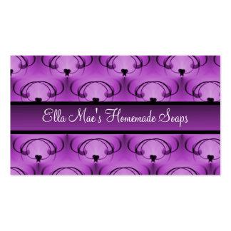 Refined Elegance Business Card, Lovely Lavender