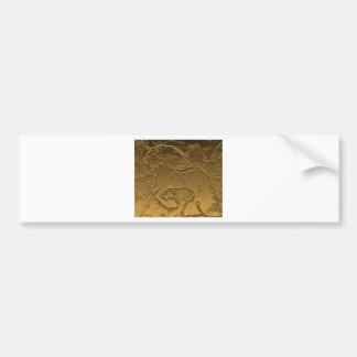 Refined Friesian Bumper Sticker