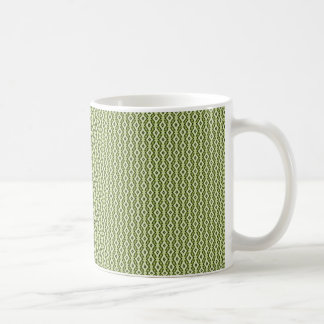 Refined Glam Mug, Olive Green Coffee Mug