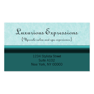 Refined Pro Business Card, Teal