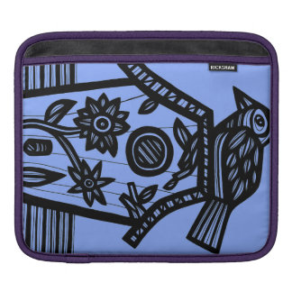 Refined Quick-Witted Amicable Calm iPad Sleeve