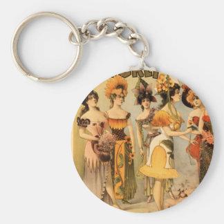 Refined Vaudeville Keychain