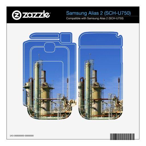 Refinería de petróleo samsung alias 2 calcomanías