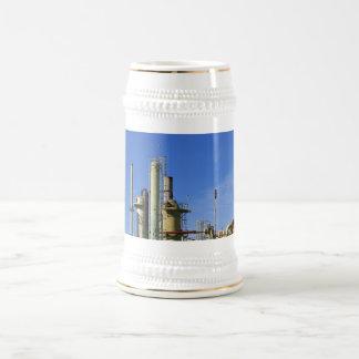Refinería de petróleo taza de café