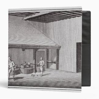 Refining saltpetre binder