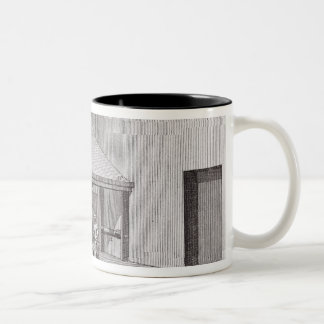 Refining saltpetre Two-Tone coffee mug